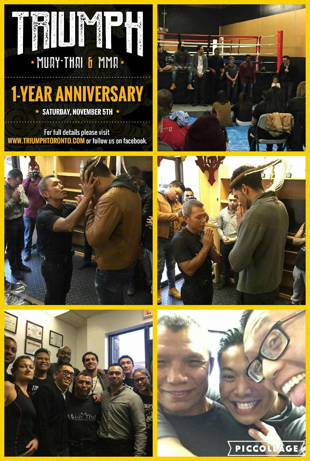 1 YEAR ANNIVERSARY CELEBRATION — Scarborough Triumph Muay-Thai