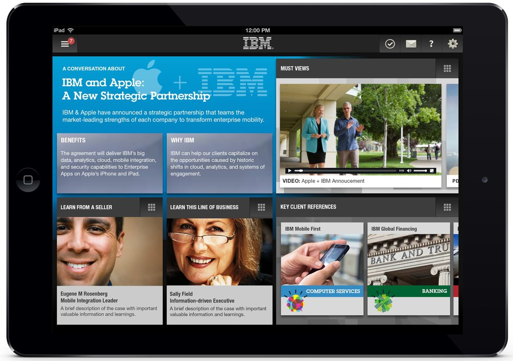 Apple + IBM Partnership Demo