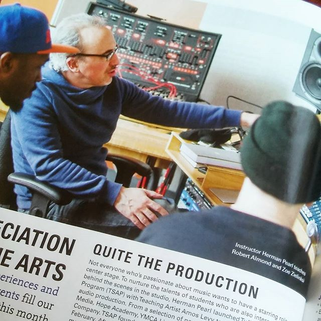 We made the culture page in Whirl Magazine's June issue #audioproduction #producersintraining #tuffapprentice #coolteach