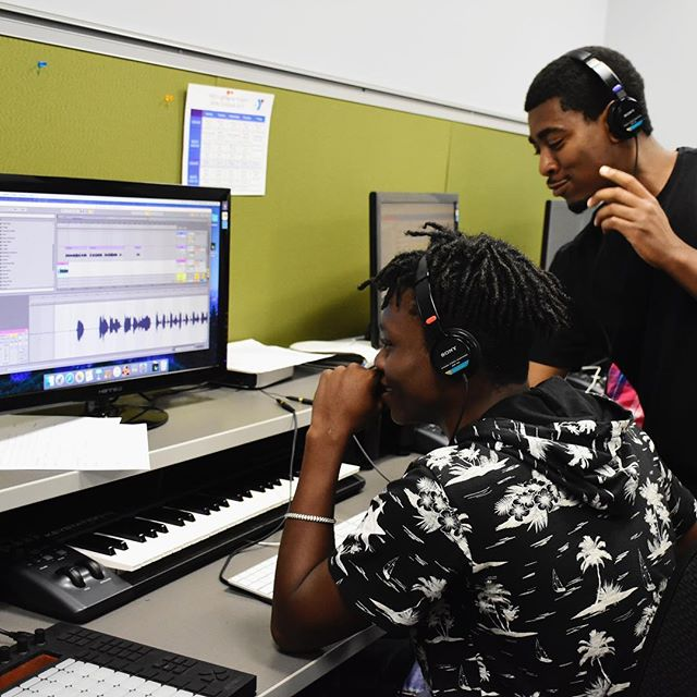 Teens, one more day to get in applications for our fall semester. Link in our bio. #recordingstudio #education #audioengineering #mixing #pittsburgh @ymca_lighthouse @remakelearning Photo by @meltbot