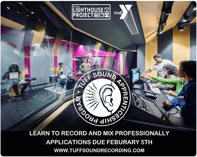 Learn audio engineering from expert instructor @soysostuffsoundrec. Application link in the bio. #audioengineering #education #recordingstudio  #Pittsburgh #Homewood @ymca_lighthouse