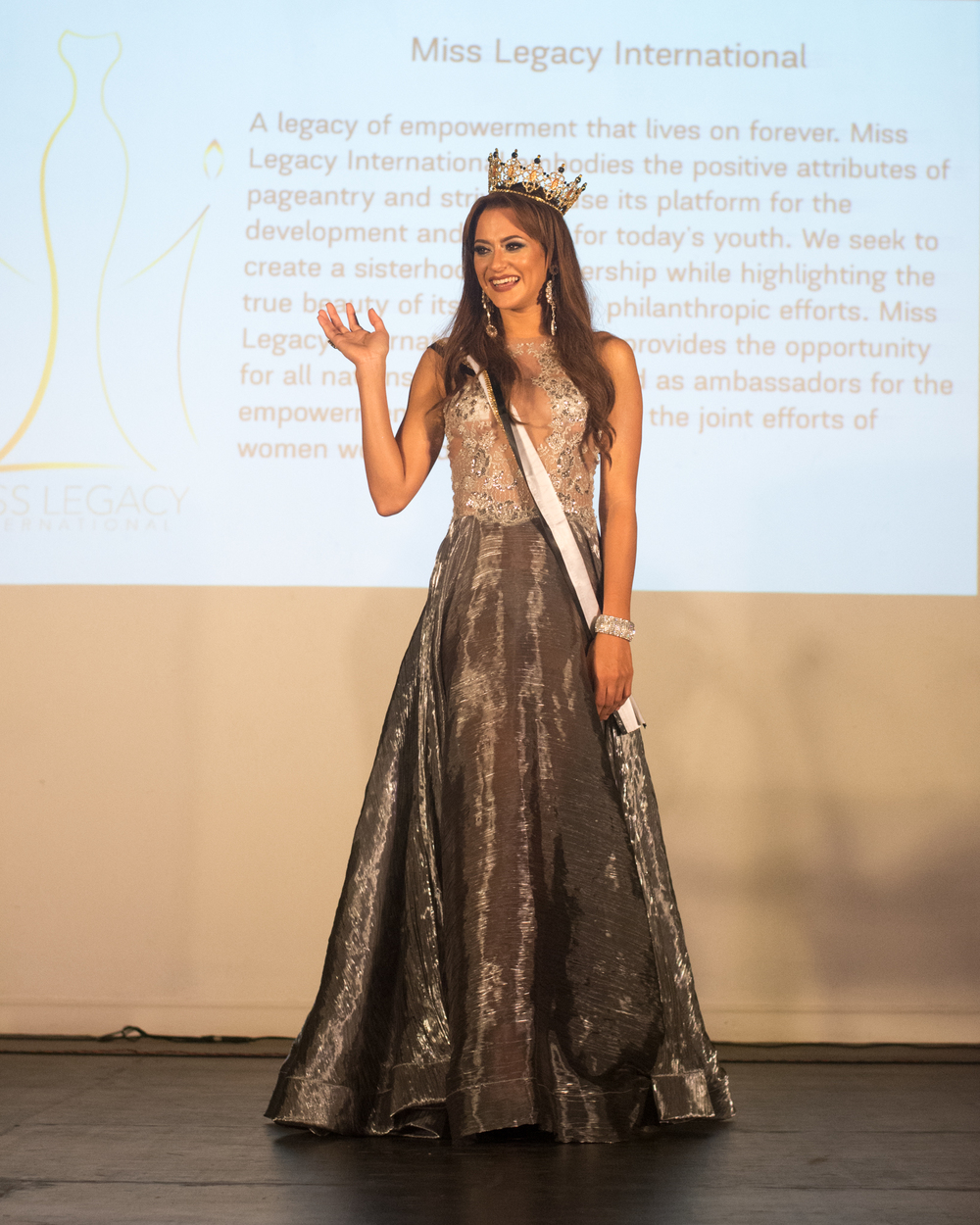 Our crowned queen Kiara Zayas of Puerto Rico
