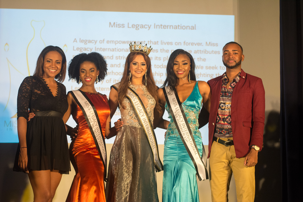 Contestants with our Hosts & TV Personality Talia Soares & Director of Communications, Lij Tafari