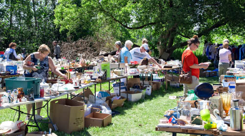 Annual yard sale - 2017
