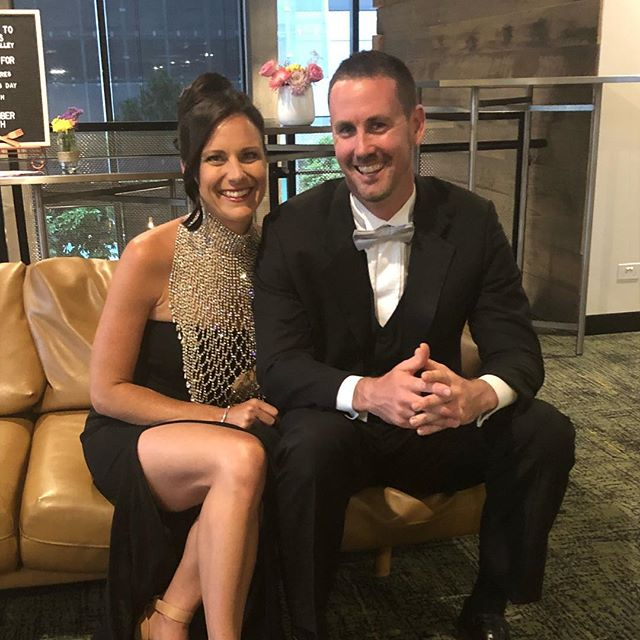 Another Saturday night on the couch! 🙊 Such a great night #tccball2018 raising money for children's hospital foundation.