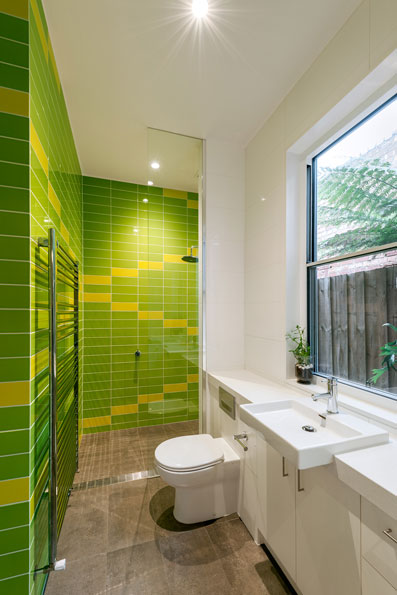 bathroom tile patterns sustainable architecture north carlton modern bespoke design green sheep collective environmentally friendly architect black
