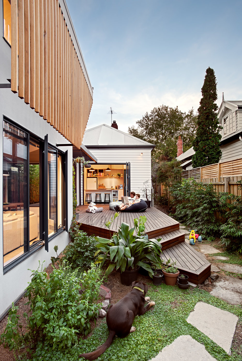 green sheep collective sustainable architect melbourne timber deck north facing living environmentally friendly.jpg