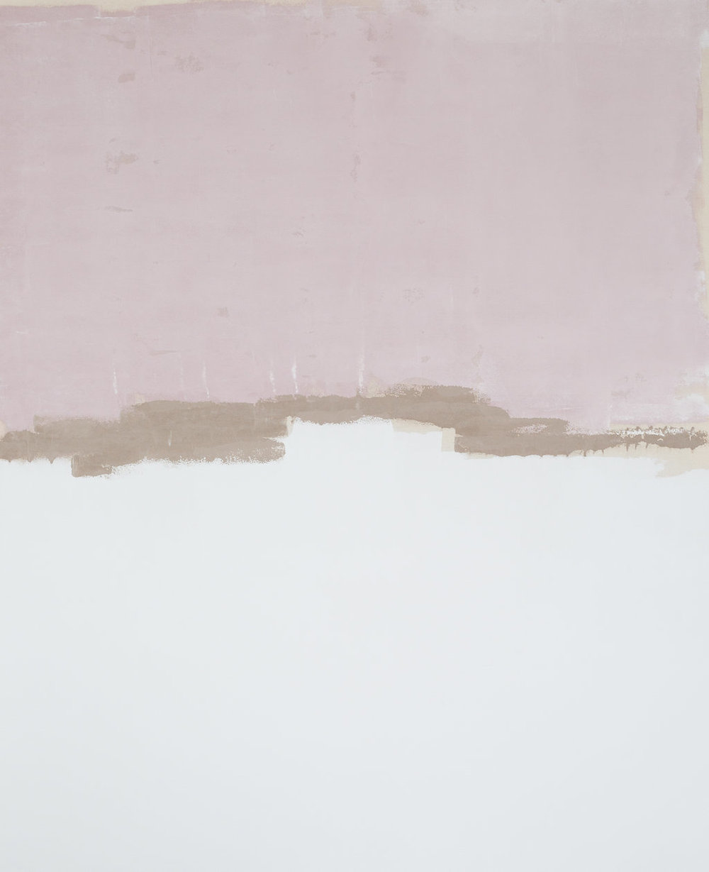 mauve ivy - 58x46 in.Available