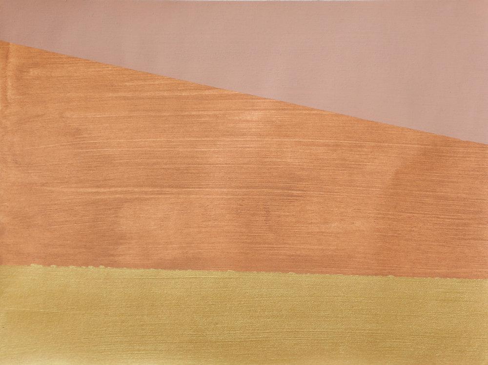 Newman's Copper Gold Stripe I -