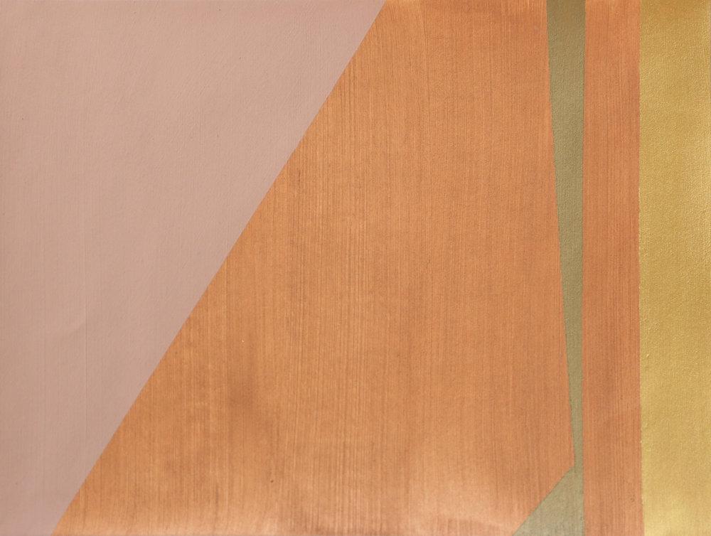 Newman's Copper Bronze Stripe I -