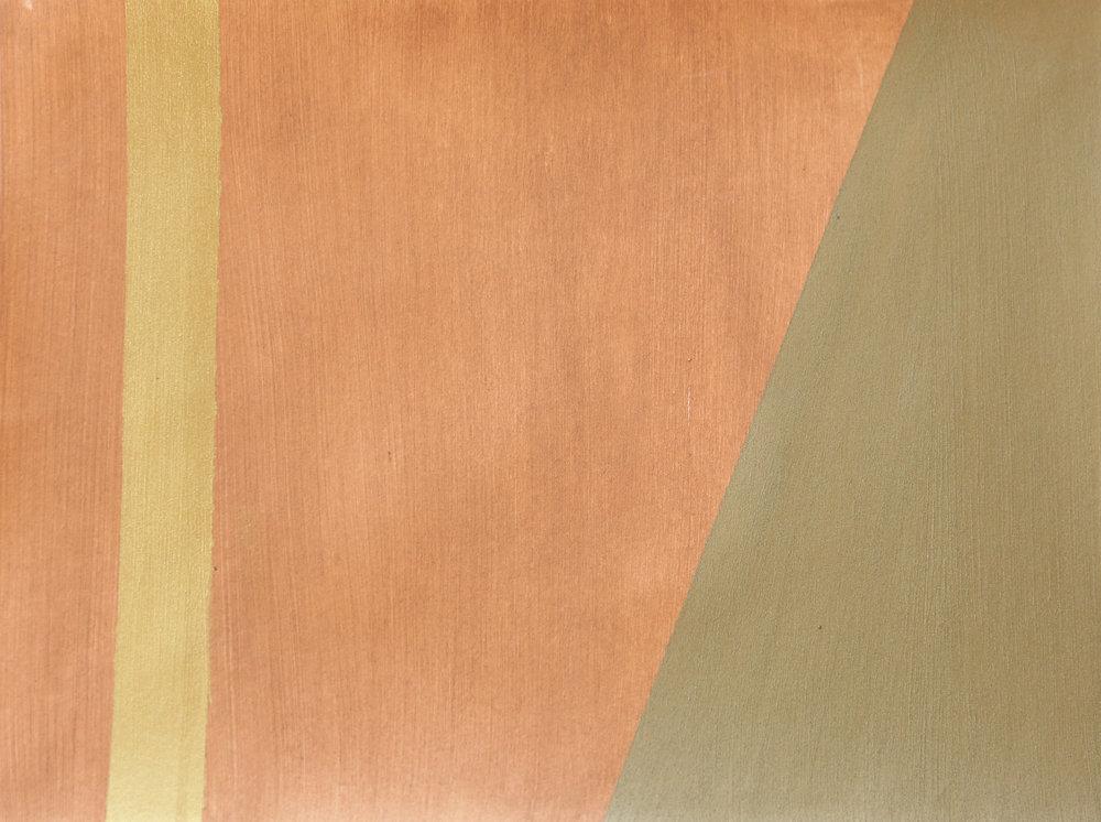 Newman's Copper Gold Stripe II -