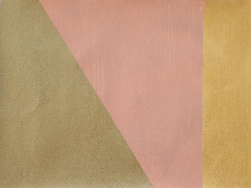 Newman's Pink Gold Strip I -