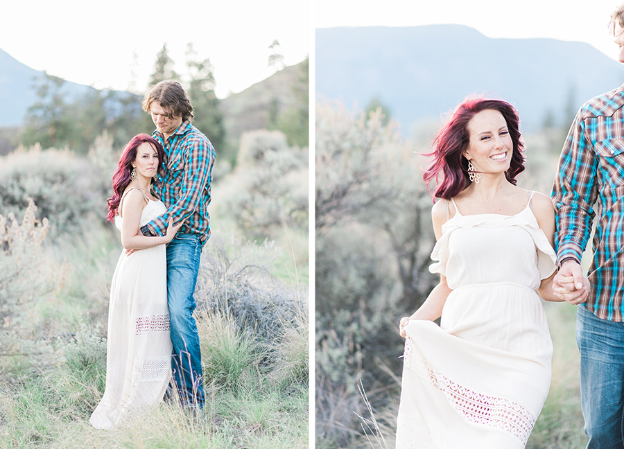 Knox Mountain Kelowna Engagement Session