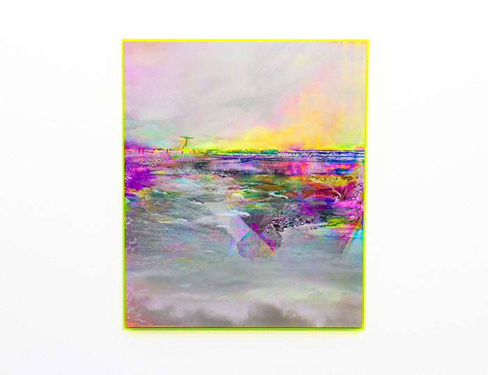 Speak  Framed 102cm (W) x 122cm (H)