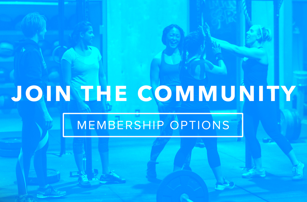 More than just a gym. Community BASED FUNCTIONAL FITNESS THATS BEEN PROVEN TO DELIVER RESULTS.