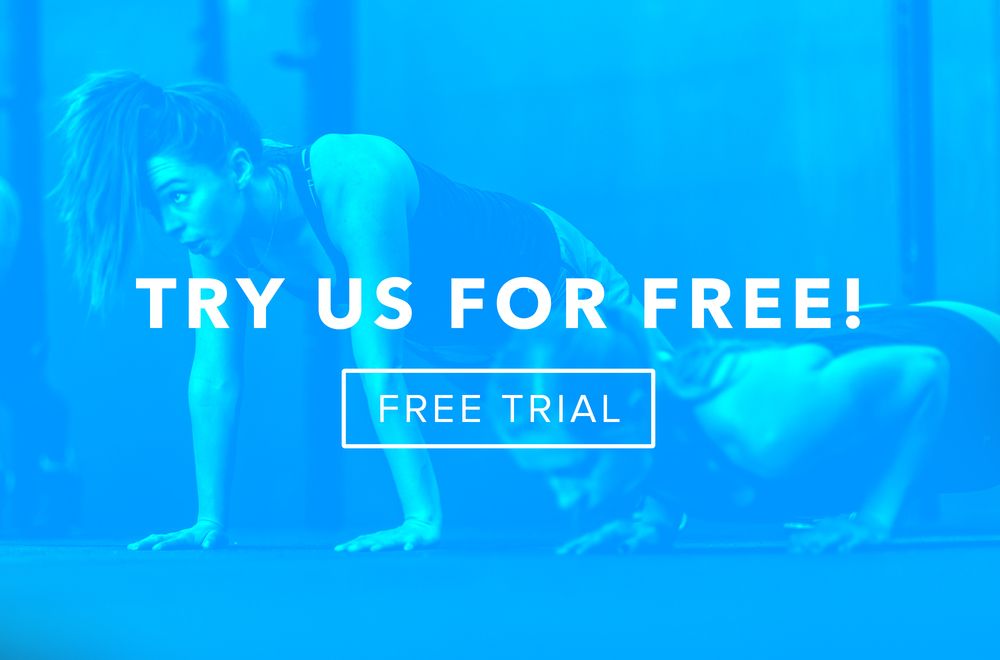 INTIMIDATED BY THE GYM ATMOSPHERE? WE KNOW WHAT THATS LIKE. IF YOU'RE BRAND NEW TO OUR COMMUNITY, STOP ON IN FOR A COMPLIMENTARY FREE TRIAL!