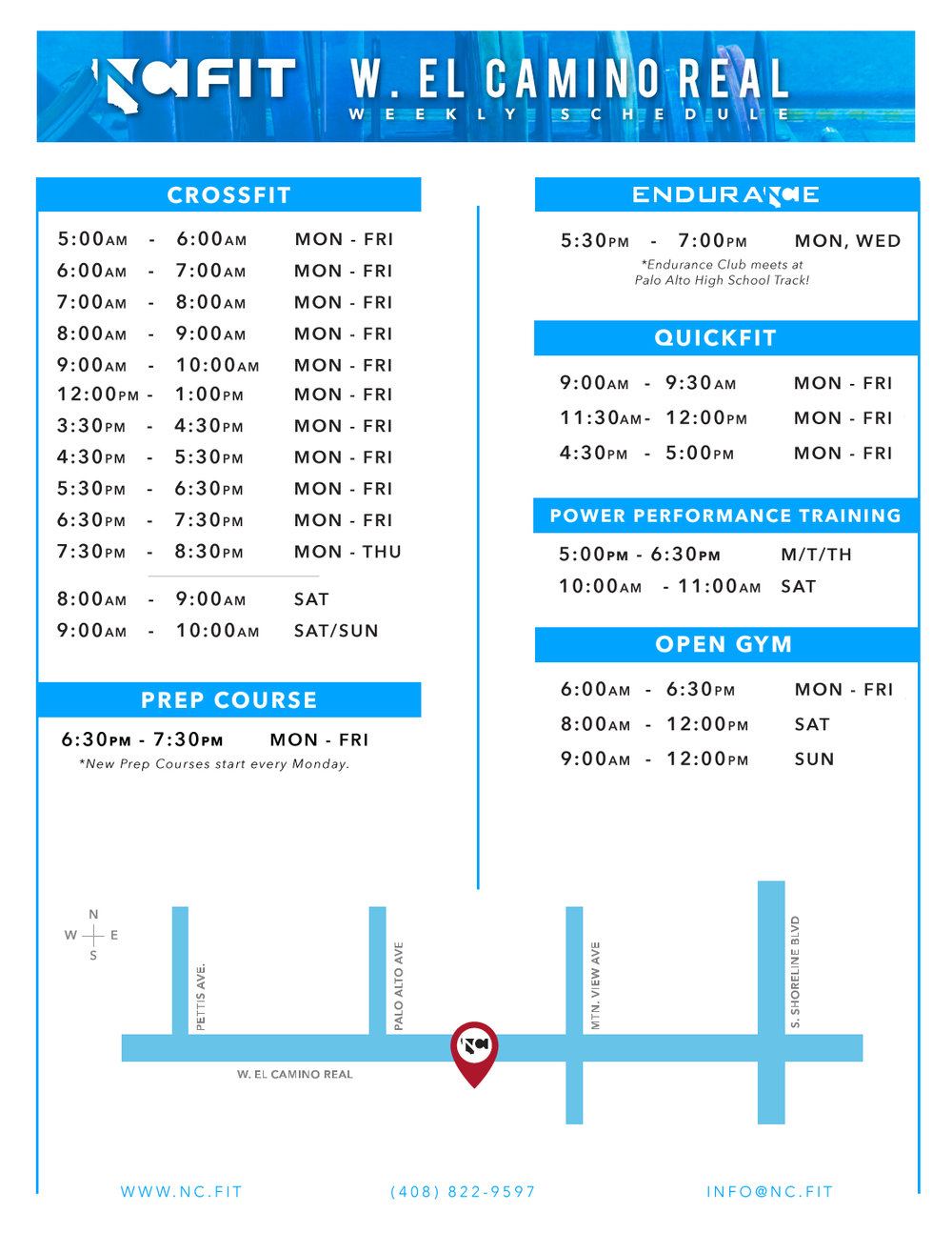 CLICK TO VIEW SCHEDULE