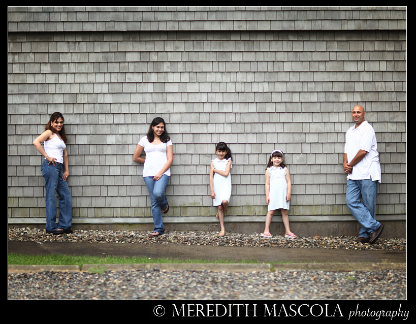 Connecticut Family Portrait Photography in the spring time