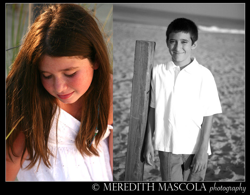 New Jersey Portrait Photography at the beach
