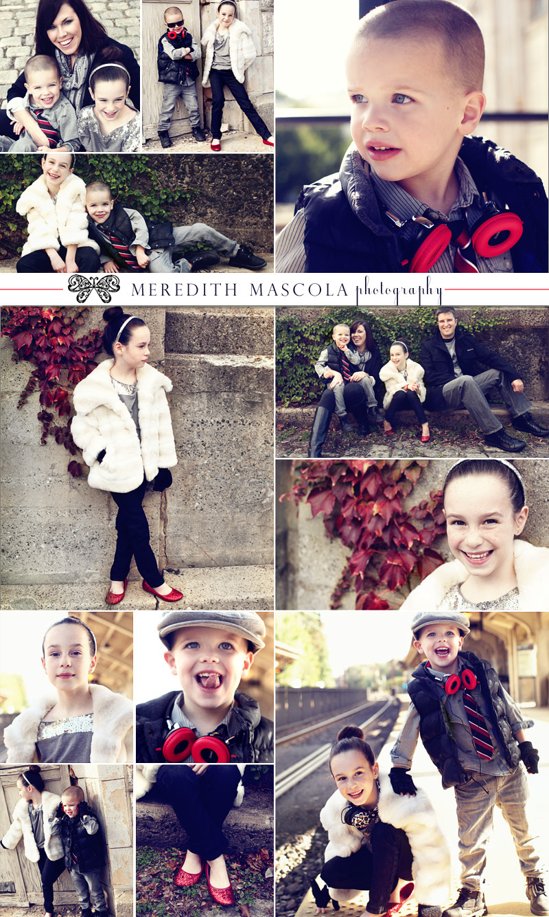 new jersey holiday portraits