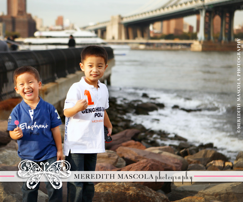 portraits by brooklyn bridge