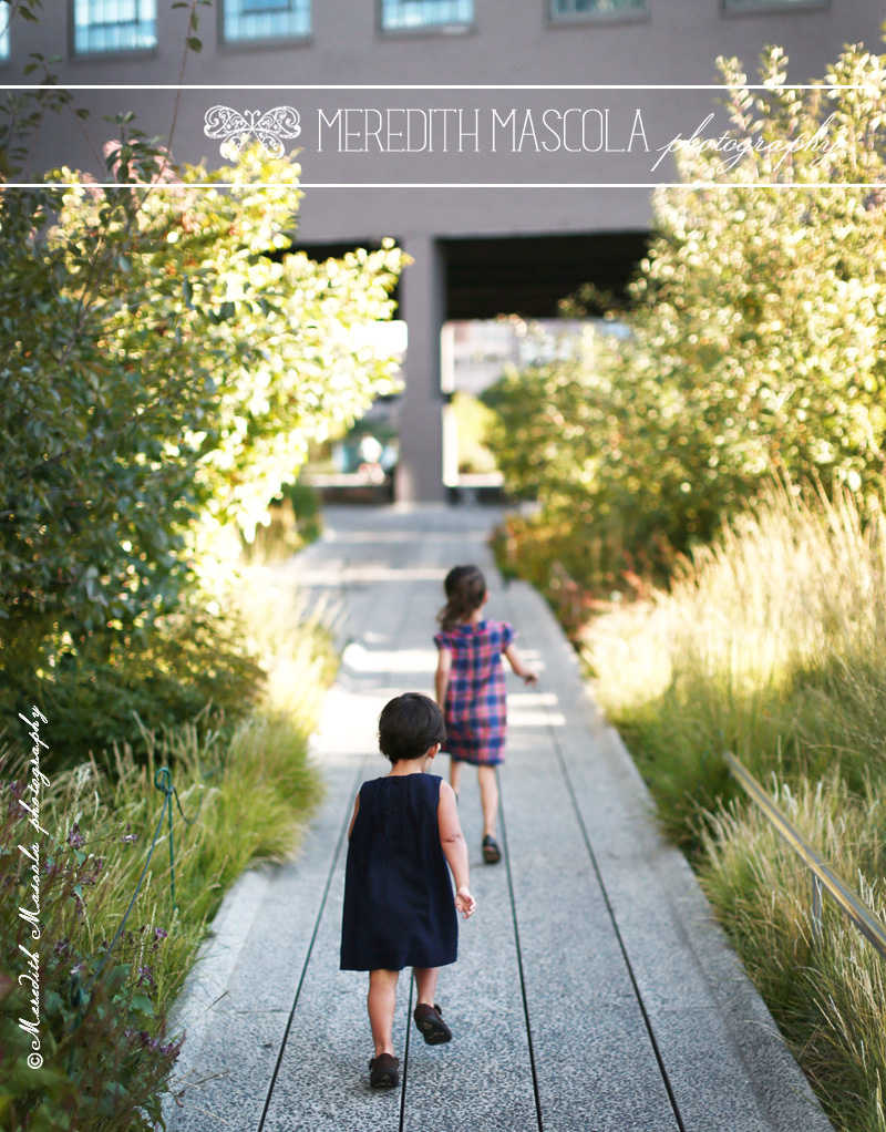 manhattan children photographer portrait at the high line