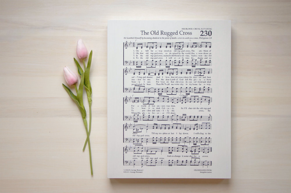 HymnOldRuggedCross11x14.jpg