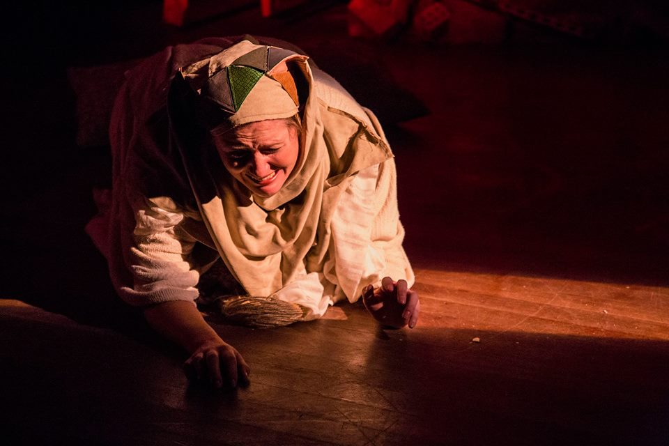 Asakir in Fairouz's Sumeida's Song / Third Eye Theater Ensemble (photo by Clint Funk)