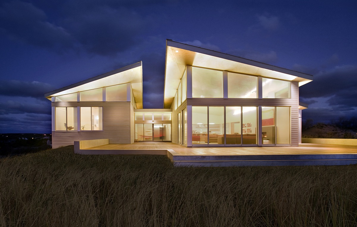 Truro Residence - A Green Modern Beach House — ZeroEnergy Design ...