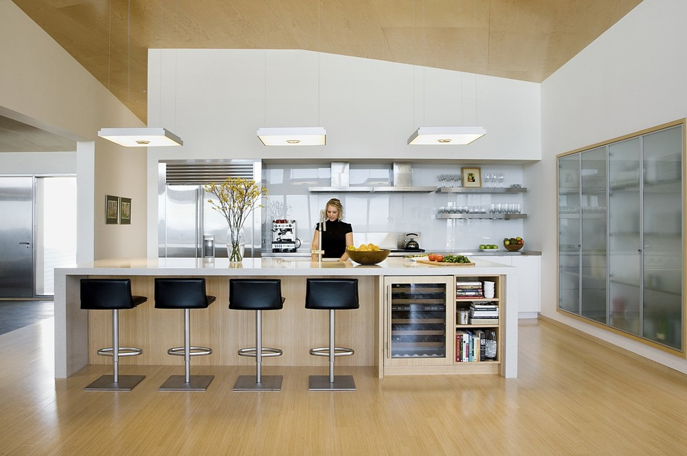 Modern Cape Cod Kitchen
