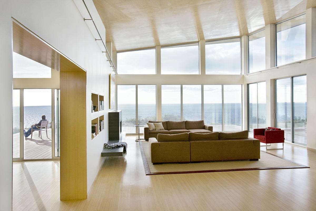 Truro Residence - A Green Modern Beach House — ZeroEnergy Design ...