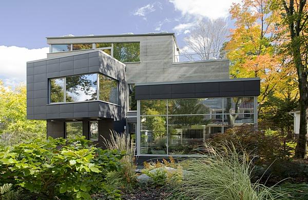 Modern green architecture