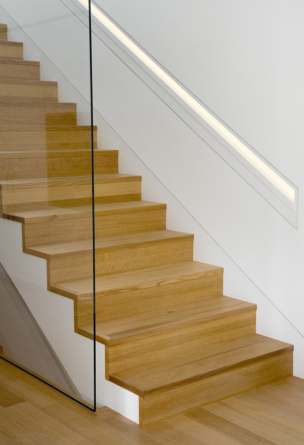 Modern stair base