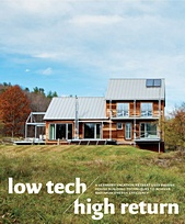 Design New England Passive House Story
