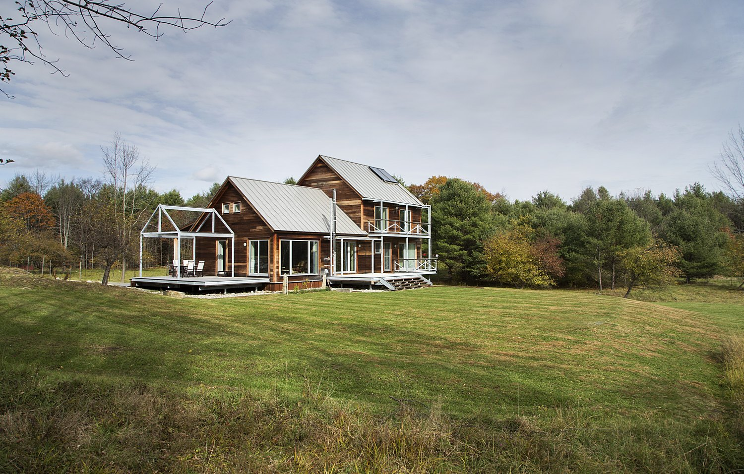 Farmstead Passive House A Certified Passive House  ZeroEnergy - Zero energy home design