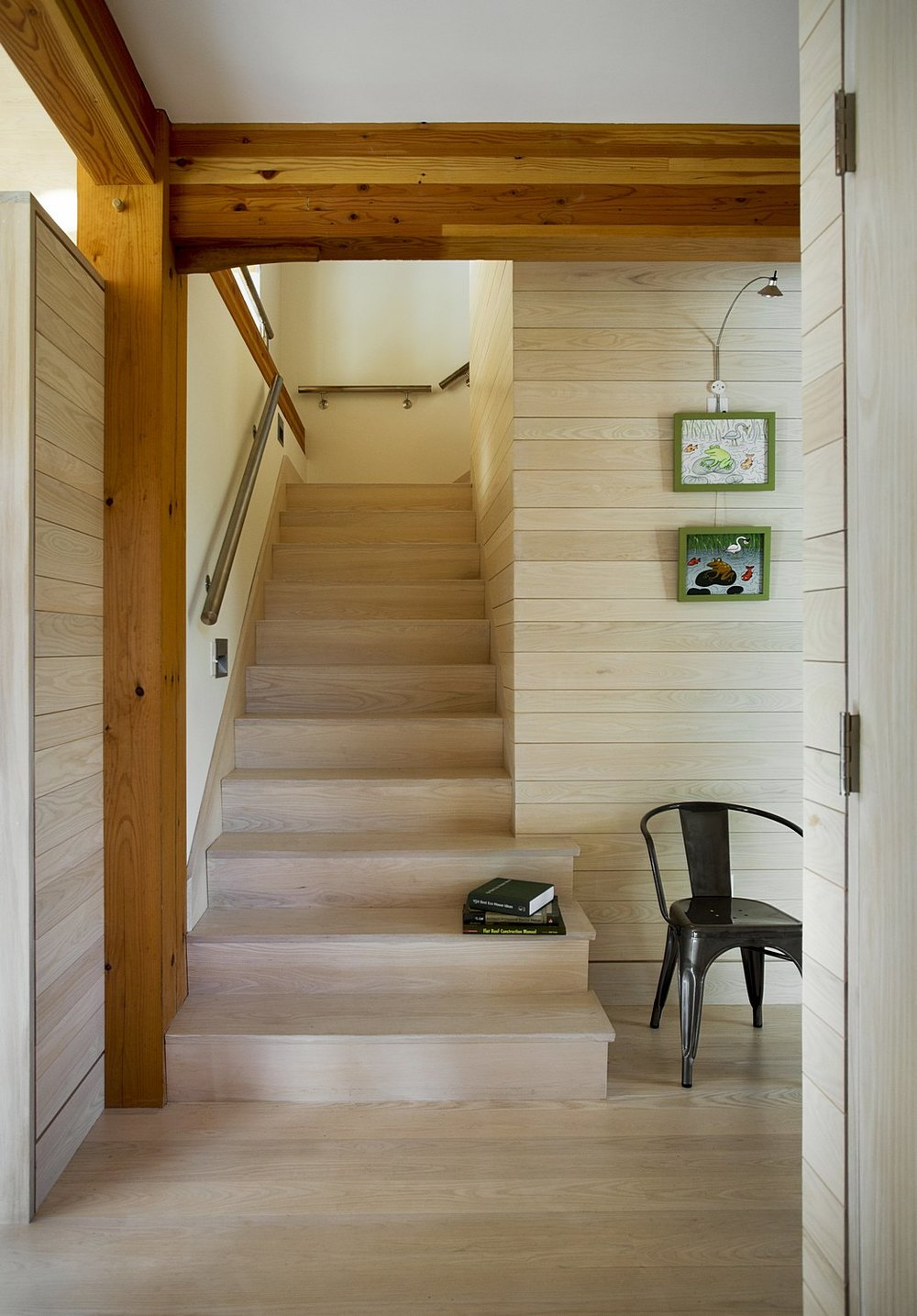 Modern Farmstead Stairway