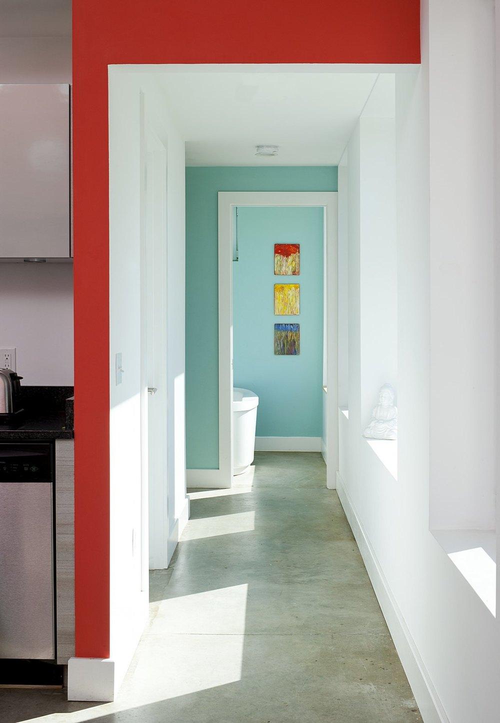 Daylit Hallway