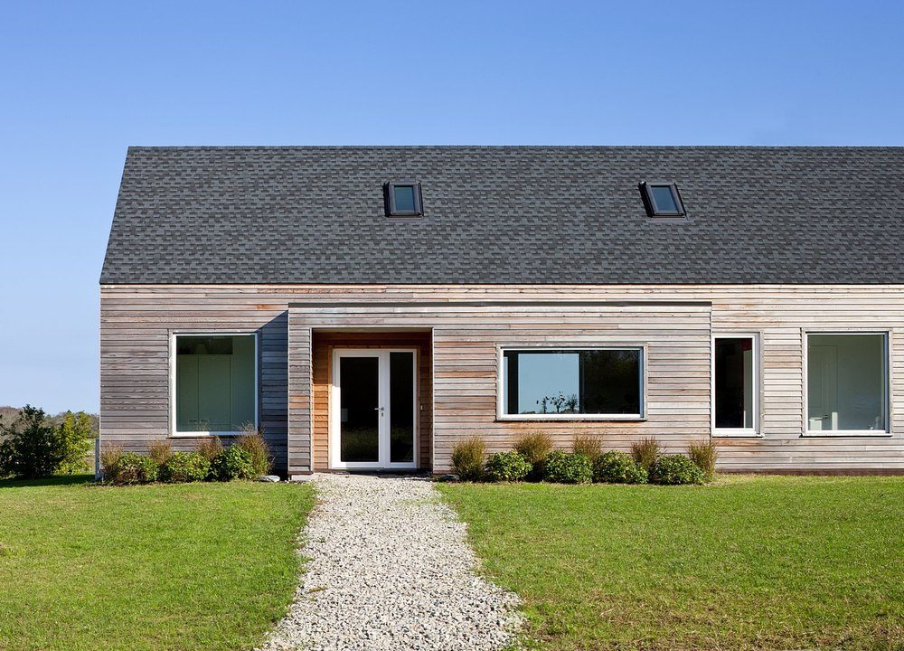 Passive house retreat leed gold certified zeroenergy for Leed home plans