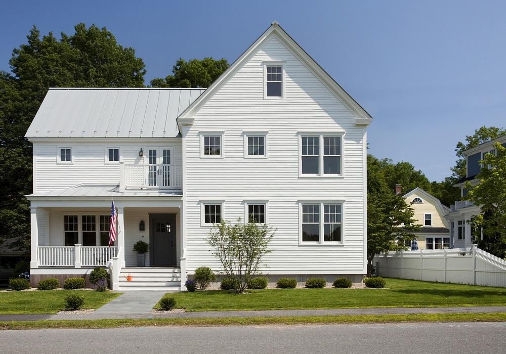 Green home in Massachusetts