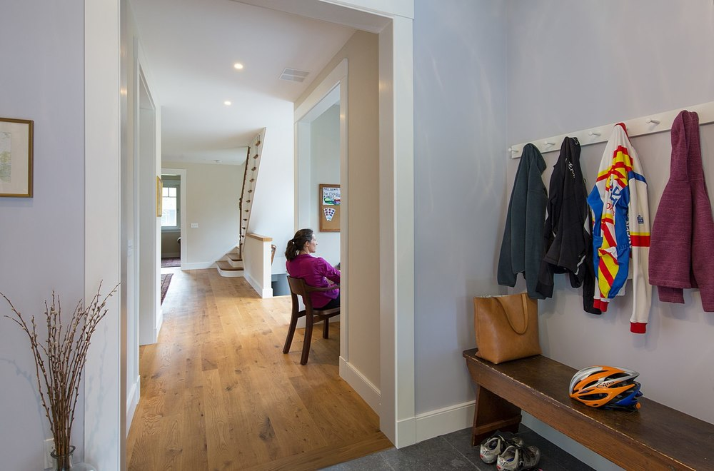 Mudroom to main floor