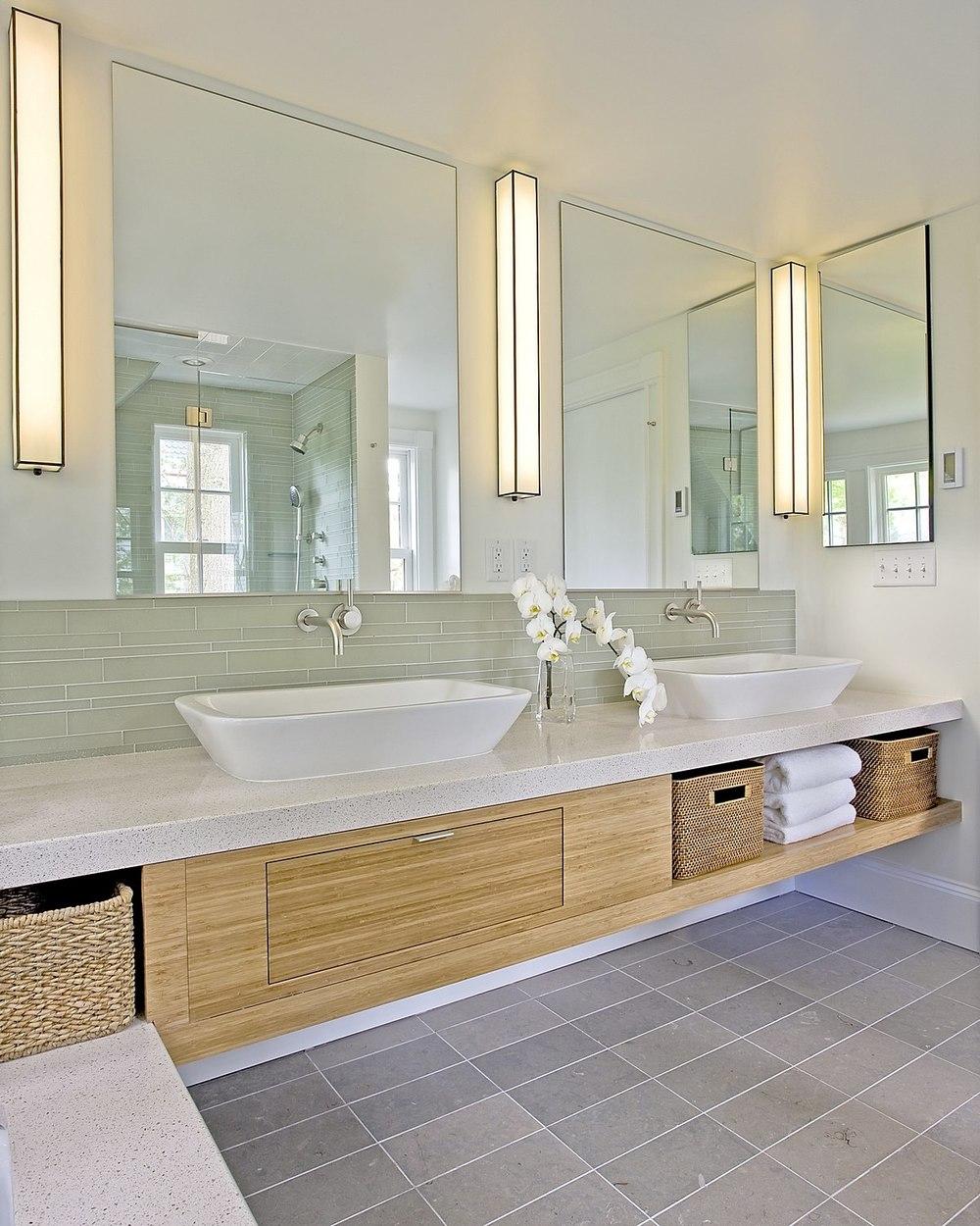 Modern Dual Sinks