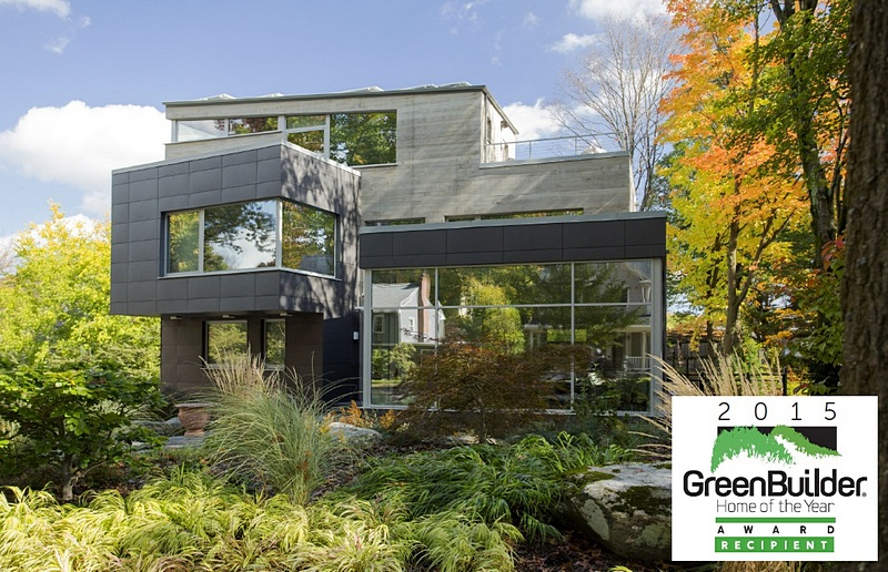 best inspired green design awarded to zeds brookline residence