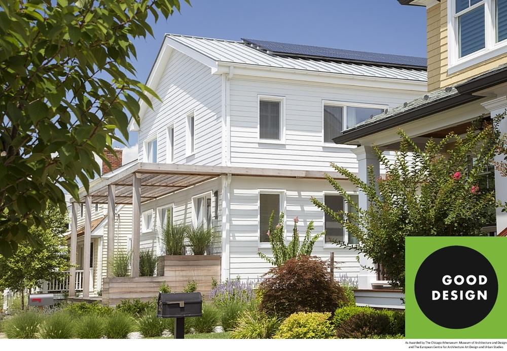 Resilient Green Home wins International Green GOOD DESIGN Award ...