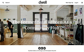 Dwell The Former Barn Reborn as a Community Hub