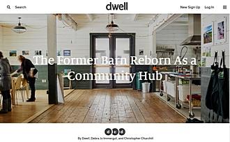 Dwell The Former Barn Reborn as a Community Hub