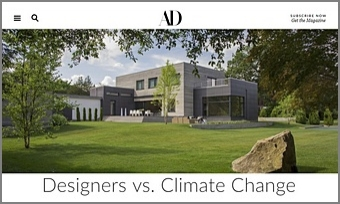Architectural Digest   Designers vs. Climate Change
