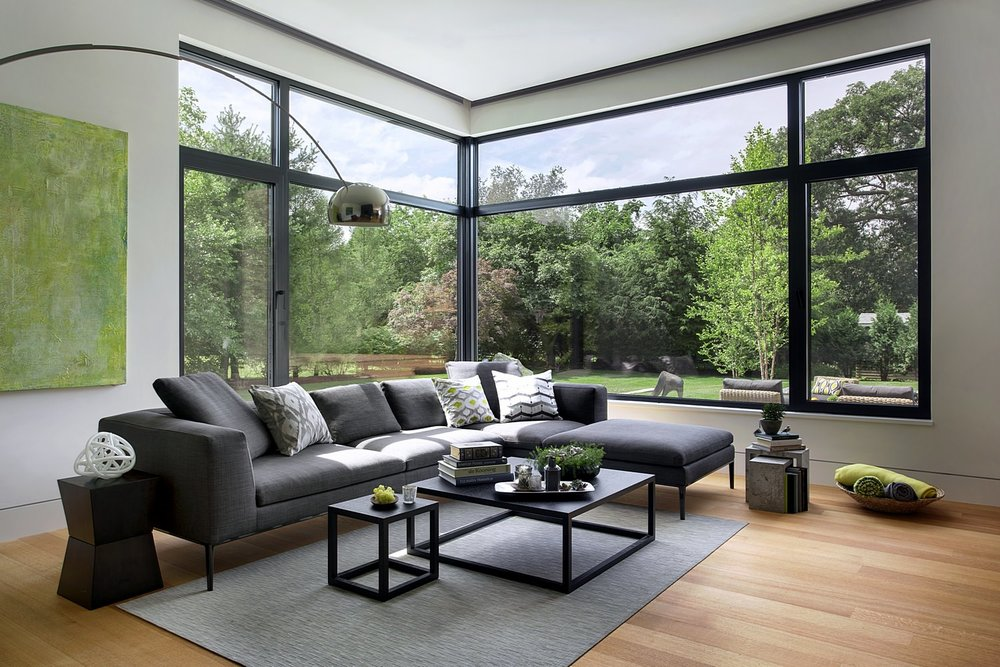 Modern Green Home Architect