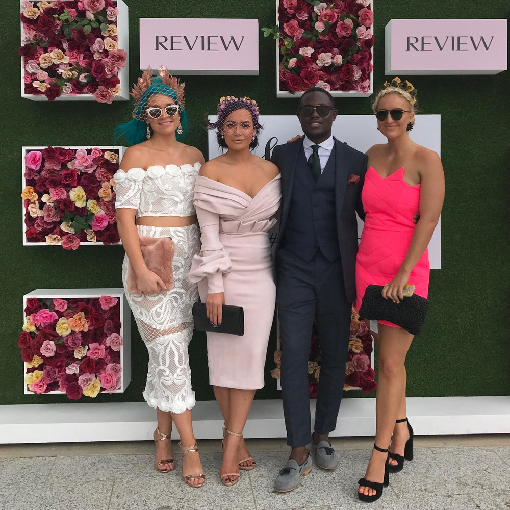 Getting a quick snap with my fellow judges Amy Sheppard, Mayowa Adeniyi and Emma Sheppard.