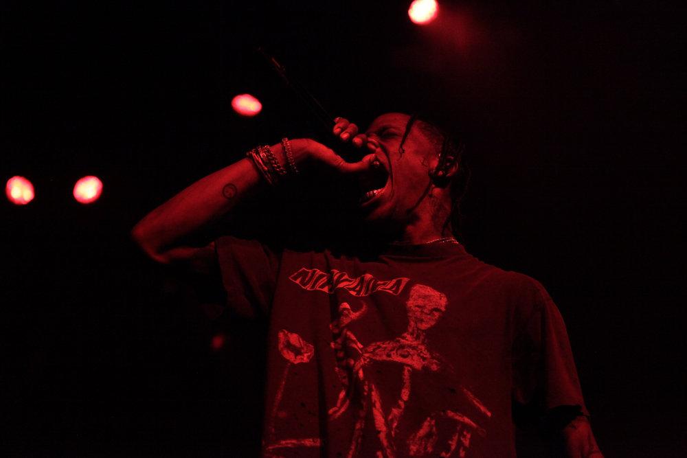 Travis Scott on Bird's Eye View Tour in Portland, Ore.
