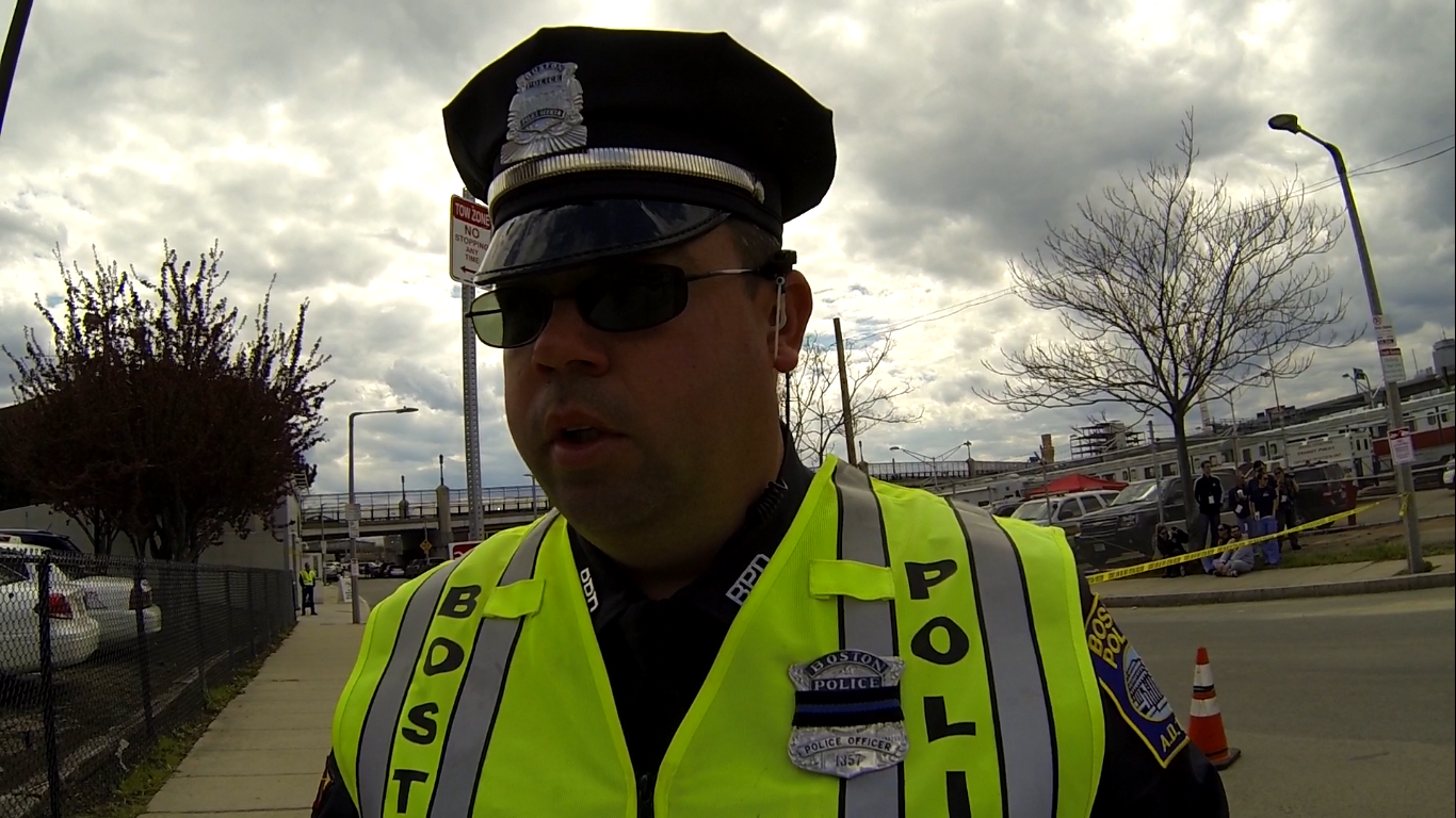 Boston Police Officer Michael Principe (Badge #1357)